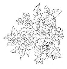 drawing flower patterns free download easy flower patterns draw