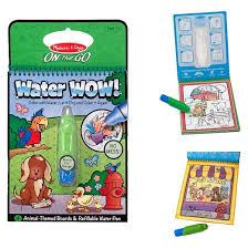 melissa u0026 doug water wow coloring book assorted target