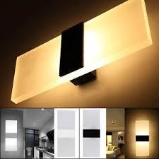 modern led wall lighting up down cube indoor outdoor bedroom
