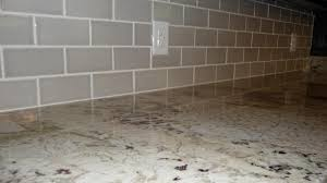 decorating inspiring travertine tile for grey backsplash ideas