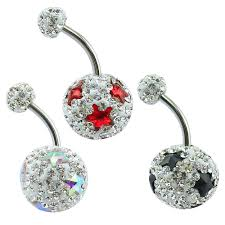 crystal belly rings images Hot sexy women girl navel piercing jewelry bling star crystal jpg