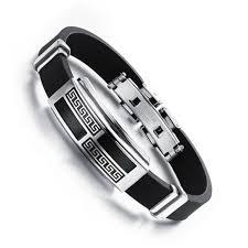 aliexpress buy new arrival cool charm vintage cool fashion vintage genuine silicone bracelet men unique mens