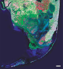 Satellite Map Of Florida by Se Maps