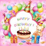 card invitation design ideas vector happy birthday card with