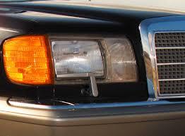mercedes s class 1986 1986 91 mercedes s class u s market headlight assembly