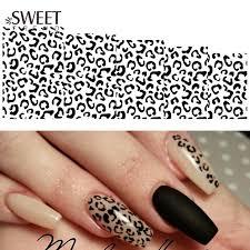 online get cheap leopard nail art aliexpress com alibaba group