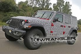 jeep wrangler jacked up 2018 jeep wrangler jl drops major camo revealing nearly all