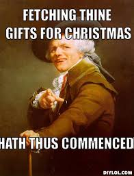 Christmas Shopping Meme - view from valehaven i can t even gifting