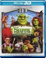 shrek blu ray