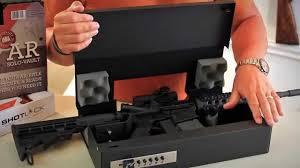 Wall Mounted Gun Safe Shotlock Ar Solo Vault Youtube