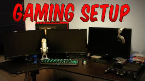 my ultimate gaming setup 2015 100th video youtube