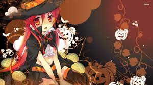 resultado de imagem para anime halloween happy halloween