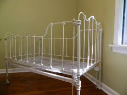 antique iron baby bed antique white iron baby crib by