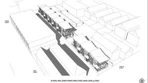 this developer proposed townhouses to replace freret street u0027s