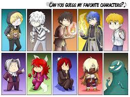 Favorite Character Meme - favorite character meme 3 by zerochan923600 on deviantart