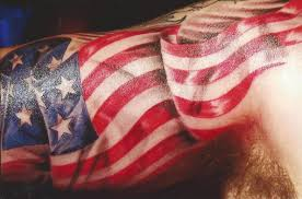 american flag cross tattoo for men photos pictures and sketches