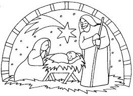 coloring pages nativity scene free page 696230 coloring pages
