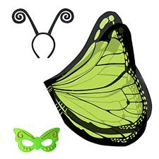 butterfly antennae headband riorand kid s dress ups set butterfly wings shawl with mask and