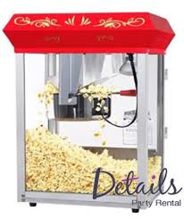 popcorn rental machine details party rental bryan concessions popcorn equipment