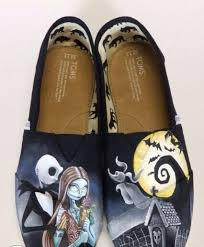 the nightmare before and sally toms shoes
