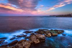 Wedding Cake Island Coogee Beach Landscape Photo Art