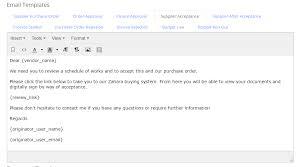 vendor order acceptance zahara