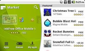 android market app updated android app market review zath