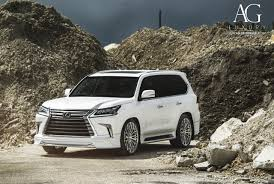 suv lexus white ag luxury wheels lexus lx570 forged wheels