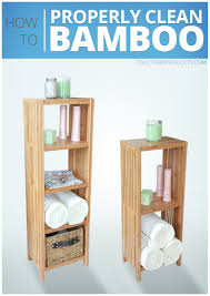 how to clean top household bamboo products cleaning tips