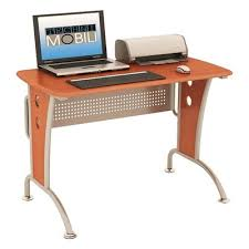 Wooden Corner Desk Top Have Slide Out Drawer For Keyboard by Desk With Wheels U0026 Casters You U0027ll Love Wayfair