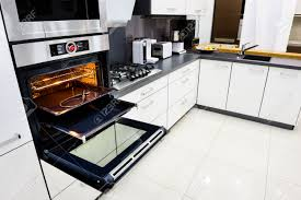 modern black and white kitchen modern luxury hi tek black and white kitchen clean interior