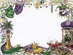 mardi gras picture frame mardi gras border clip 46