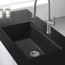 black undermount kitchen sink kraus 30 x 17 undermount kitchen sink with drain assembly