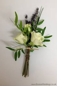 wedding flowers liverpool just picked neat lavender and spray buttonholes wedding