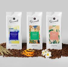 packaging design granell coffee lovely package