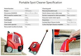 Rug Dr Rental Price Rug Doctor Portable Spot Cleaner Review