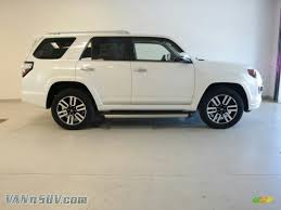 suv toyota 4runner 2015 toyota 4runner limited 4x4 in blizzard white 212154