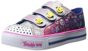 skechers led light up shoes amazon com skechers twinkle toes chit chat prolifics light up