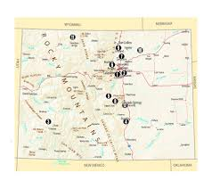 Canyon City Colorado Map by Colorado U0027s Dandy Dozen These 12 State Parks Are The Most Popular