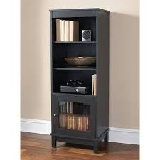 Bookcases Shelves Cabinets Amazon Com Media Storage Bookcase Tower Multimedia Organizer