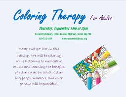 coloring therapy for adults delmarvalife