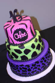 16th Birthday Party Ideas For Home 16th Birthday Cake For Zebra Giraffe And Leopard Prints
