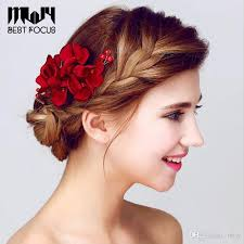 hair accessories for women new fashion flower hair brush hair accessories for women