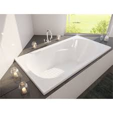 1267 Best White Bathrooms Images by Decina 1520 X 815 X 445mm Modena Bath Bunnings Warehouse