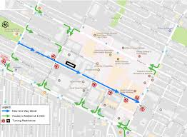 Notre Dame Campus Map West Alexander Pedestrian And Cycling Corridor Walk Bike