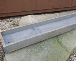 wood trough etsy