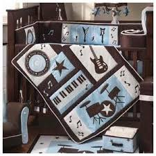 Rock N Roll Crib Bedding by Baby Bee Bakery Rock Star Baby Shower Cake