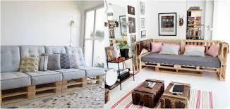 diy canapé meubles en palettes de bois comment faire un bon canapé meuble