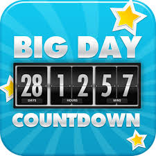 big days of our lives event countdown timer on the app store