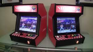 Neo Geo Arcade Cabinet Neo Geo Bartop Arcade System Youtube